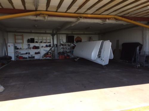 ulm,place de hangar,garage ulm,stockage ulm,autogire,giro,hélico,ulm repliable,multiaxe repliable,3 axes repliable,garage fermé,portes motorisées,abri ulm,verchocq,vf-aero