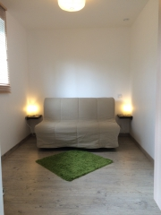 studio meublé,location studio,verchocq,LF6252,aérodrome privé,airpark,village aéronautique,balade,ulm,garage