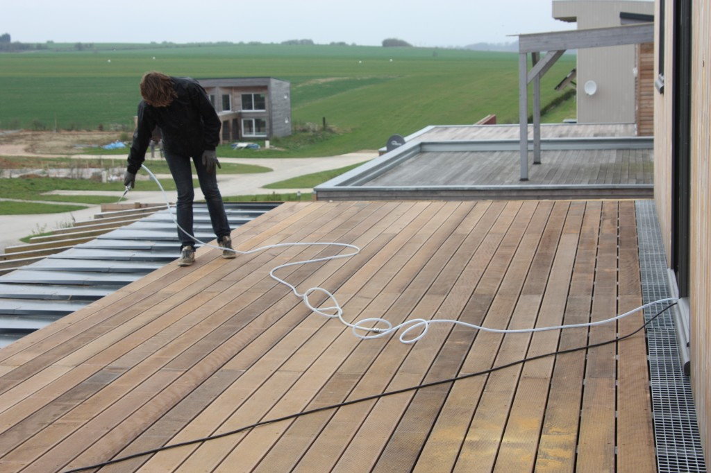 Toit Terrasse Maison Container : 3 Construction VF A u00e9ro