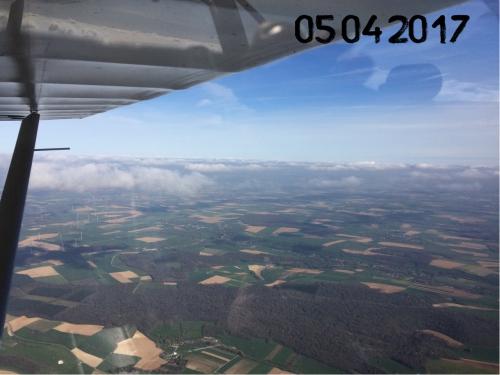 ulm,ptitavion,voler en ulm,nuages,vent de travers , décollage vente de travers,atterrissage vent de travers , verchocq,pti tavion