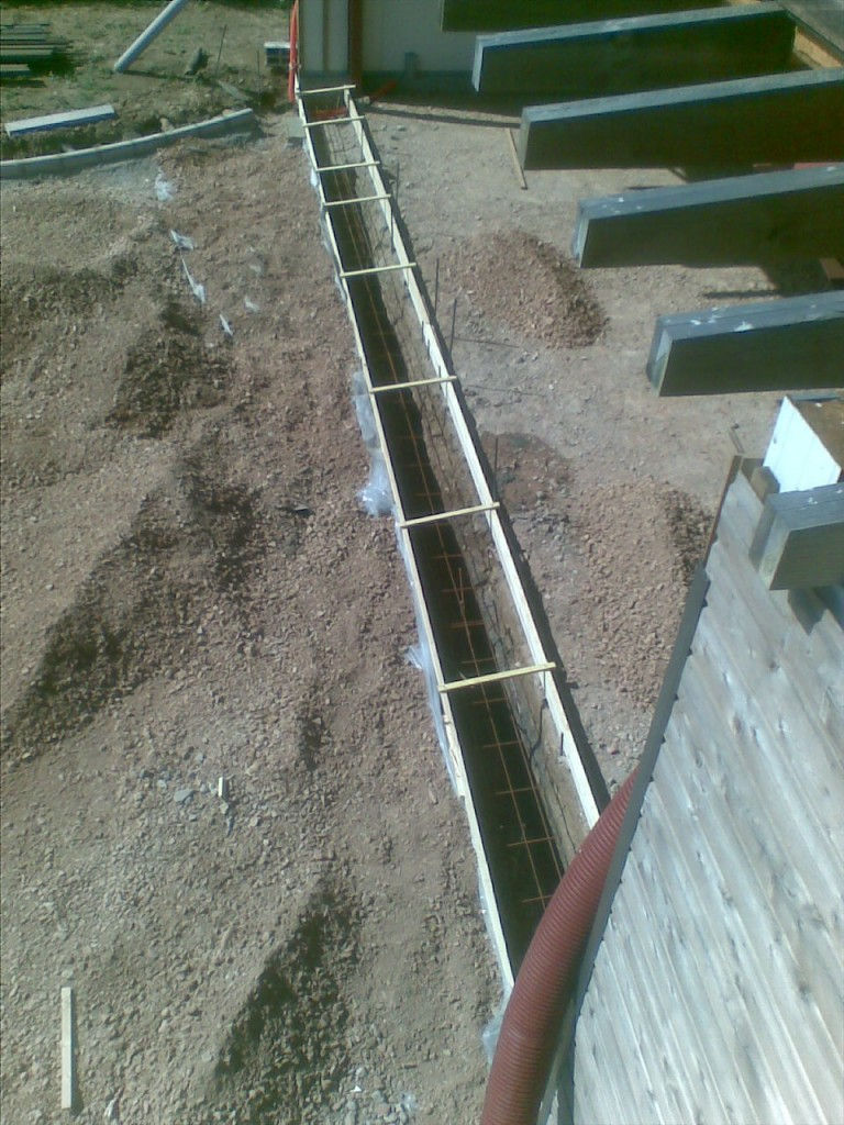 Construction maison container vf a ro for Beton coule en place