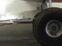 ulm,bavette,garde boue,roue brousse,pti tavion,plexi,alu,bricolage,aviation,nettoyage