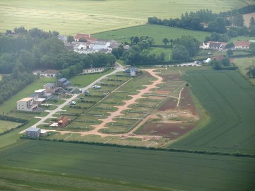 verchocq,village aéronautique,airpark,lf6252,ulm,aviation,construction,maison container,évolution,avant après