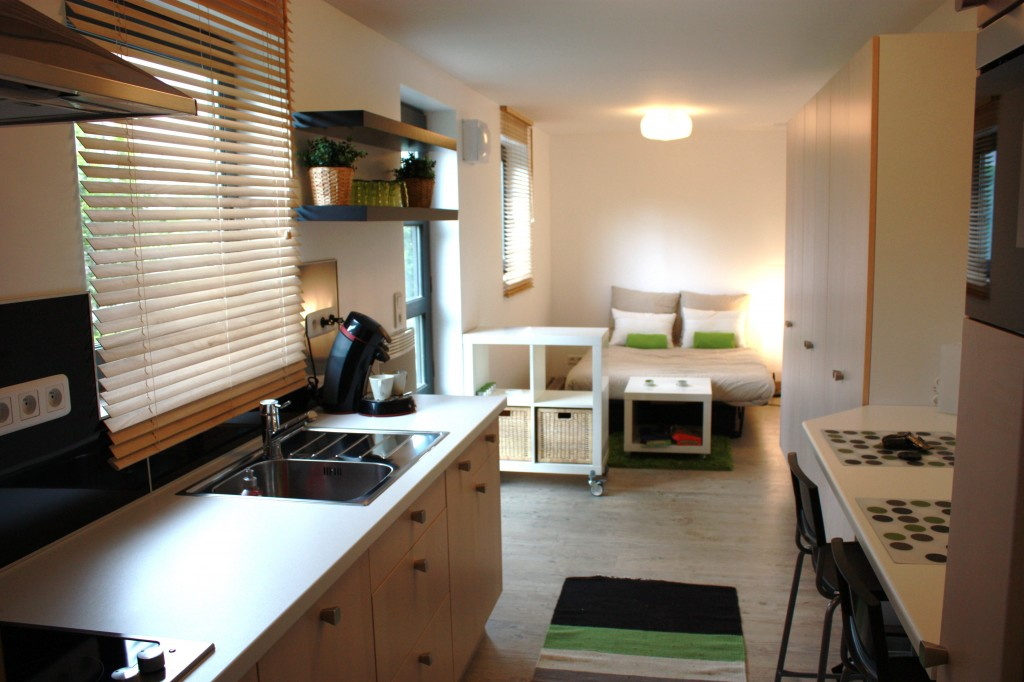 Container habitable vf a ro for Conteneur appartement